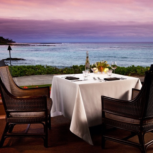 Share A Memorable Meal Under The Stars With Private Halelani Dinner Overlooking Poipu Beach Just Steps From Ocean Your Dedicated Server Will