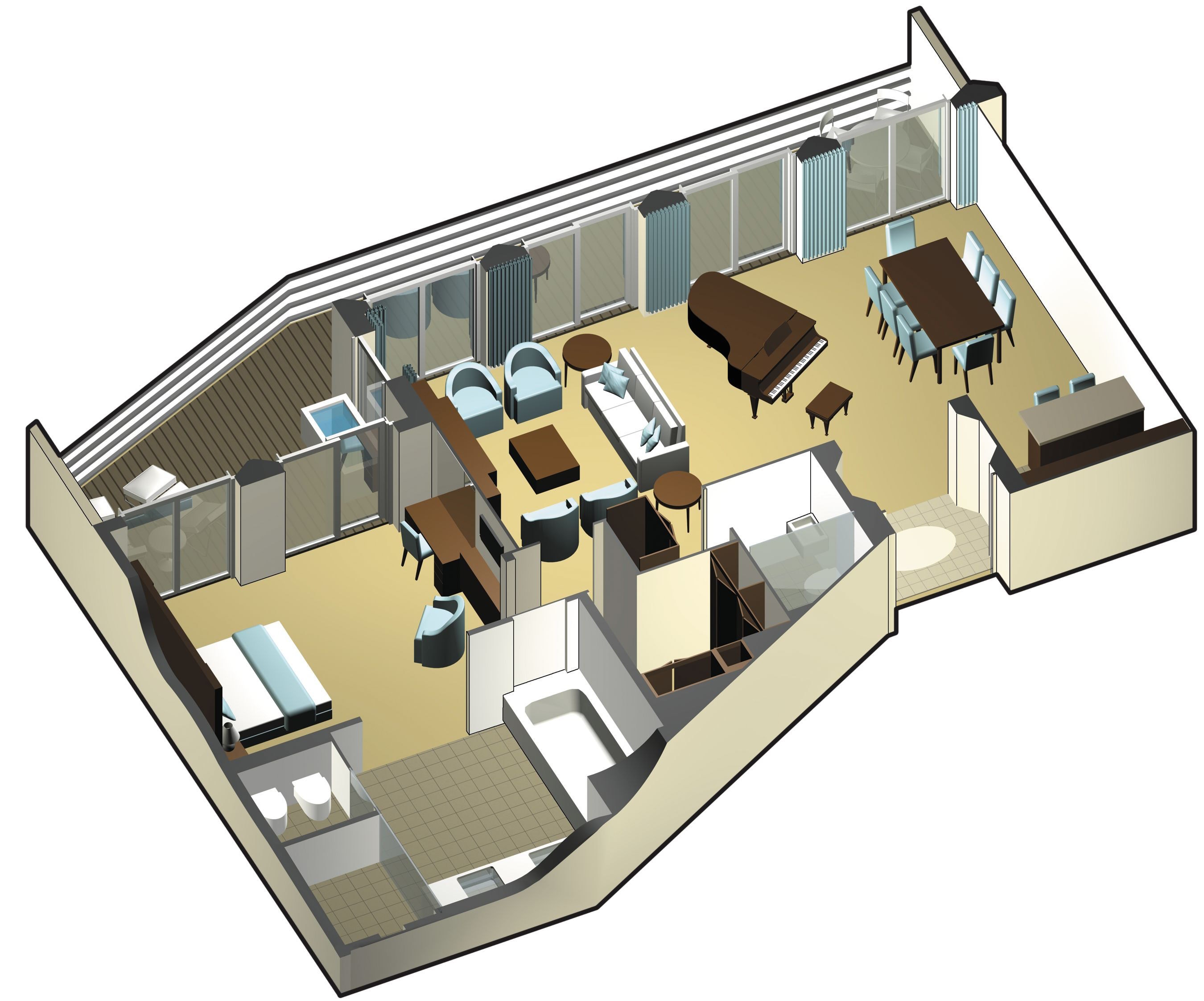 celebrity reflection celebrity cruises solstice class suites staterooms facts sheet