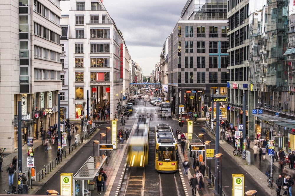d1a02b0d0b36bf Friedrichstrasse Now at the heart of a chic restaurant and entertainment  district