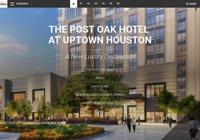 The Post Oak Hotel At Uptown Houston Imex 2018